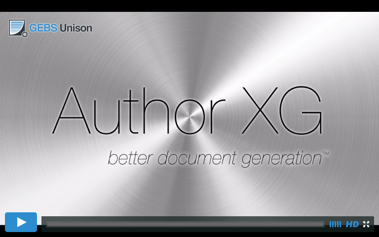 Introducing Author XG Video Screencast